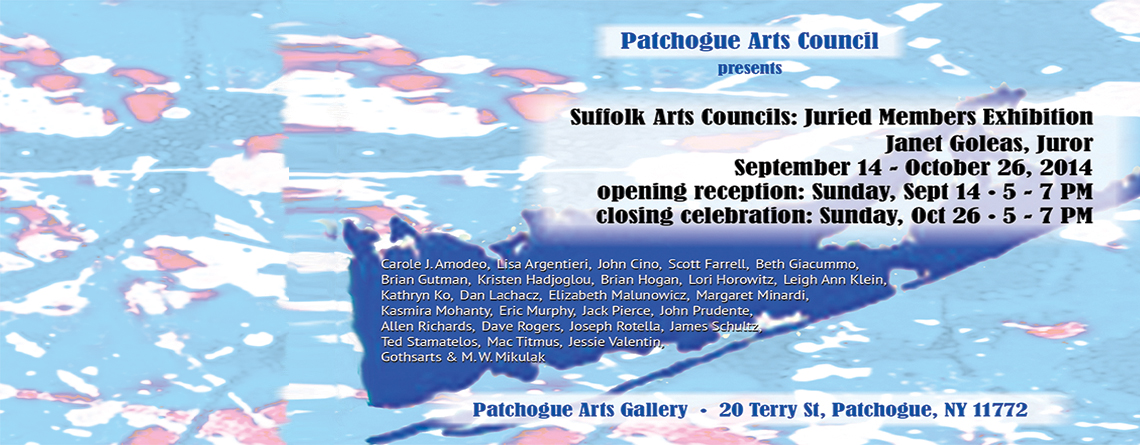 Suffolk Arts Councils Juried Exhibition